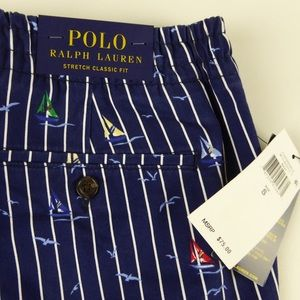 Polo Ralph Lauren Stretch Prepster Shorts Sailboat